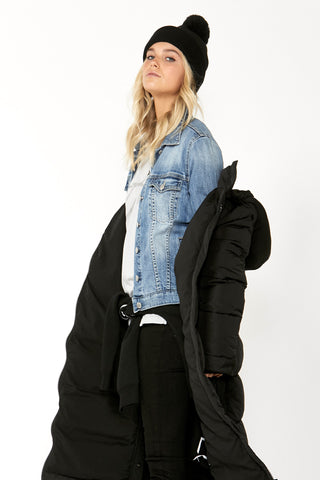 Luxe Sienna Denim Jacket