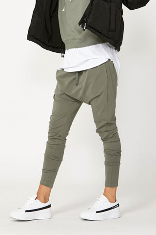Luxe Drop Crotch Pant