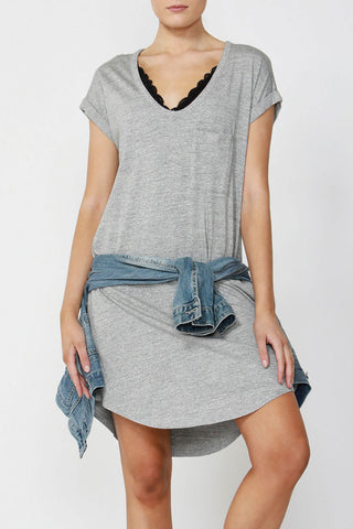 Luxe Boyfriend T-Shirt Dress