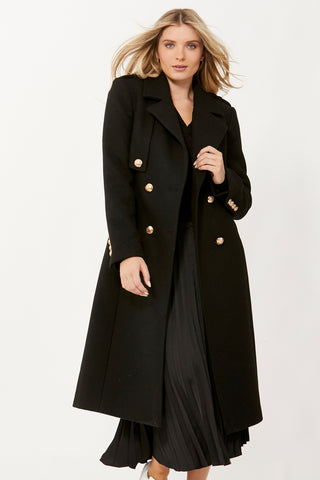 Nora Wool Trench Coat