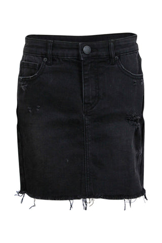 Kids Denim Mini Skirt