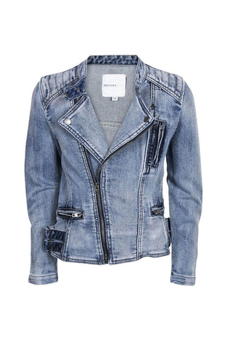 Kids Denim Biker Jacket