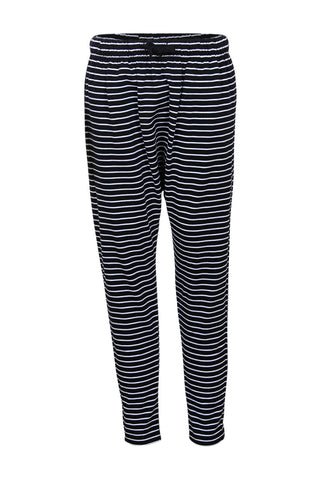 Kids Stripe Drop Crotch Jogger
