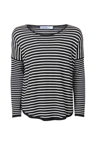 Kids Stripe High Lo Hem Knit