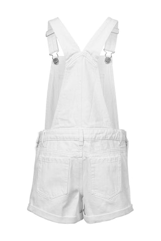 Kids Denim Short Overalls