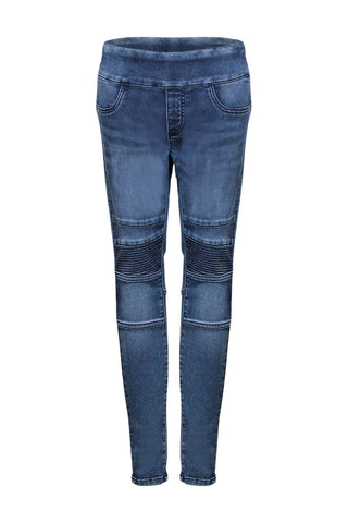 Girls Denim Biker Jean