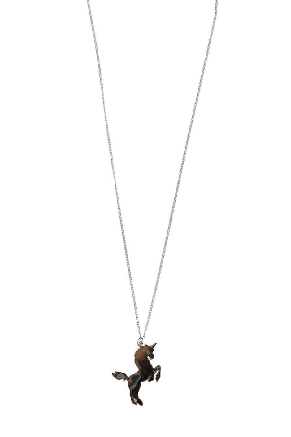 amazon unicorn girls kids rainbow l metal necklace party com slp necklaces