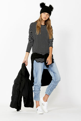 Kids Long Sleeve Stripe Top