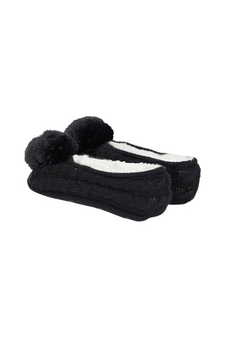 Kids Pom Slippers