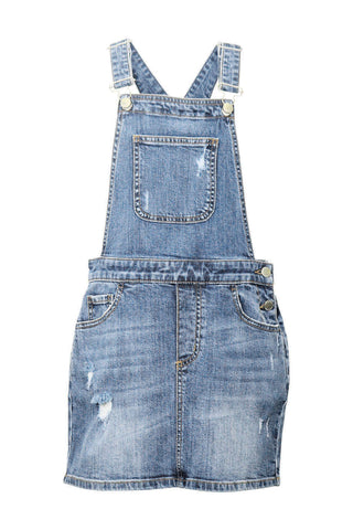 Kids Denim Pinafore