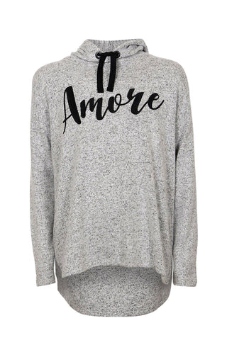 Kids Amore Hooded Sweat
