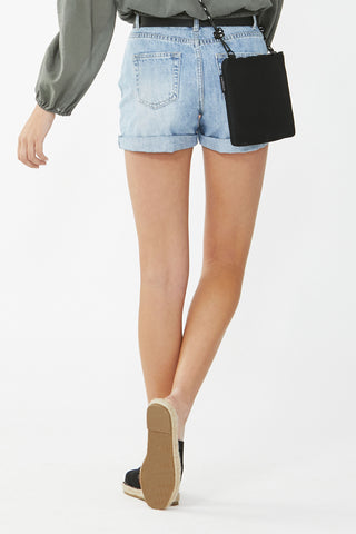 Kids Mid Rise Denim Short