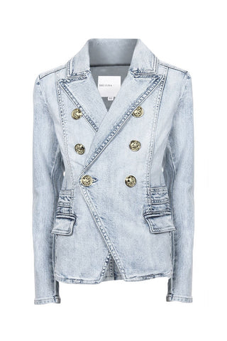 Kids Denim Blazer Jacket