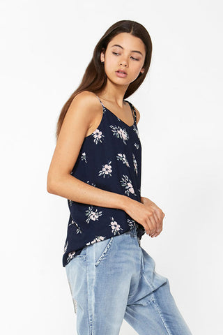 Kids Floral Woven Cami