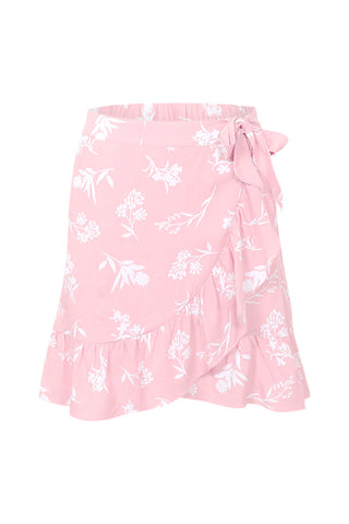 Kids Wrap Tie Skirt