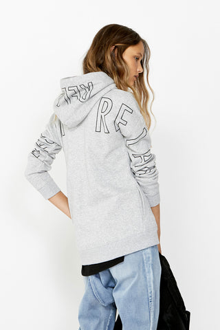 Kids Relax Outline Hood Sweat