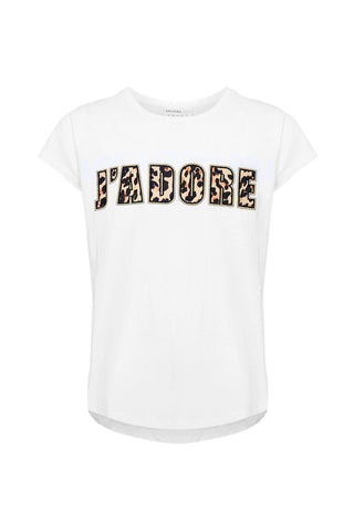 Kids J'Adore Applique Tee