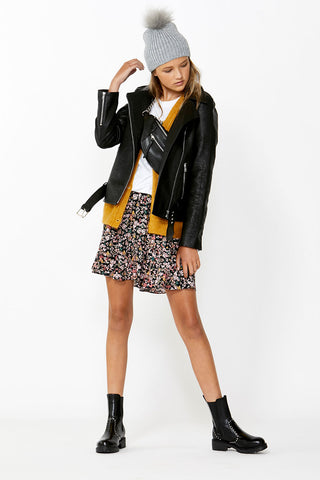 Kids Cara Pull On Ruffle Skirt
