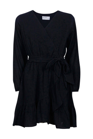 Kids Chloe Wrap Tie Dress