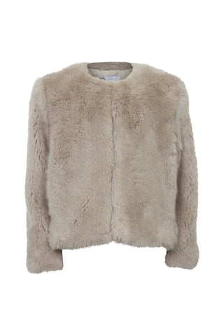 Kids Lucy Faux Fur Jacket