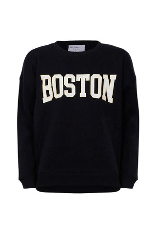 Kids Boston Stepped Hem Crew