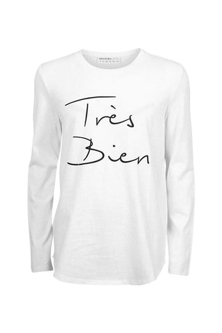 Kids Tres Bien Long Sleeve Tee