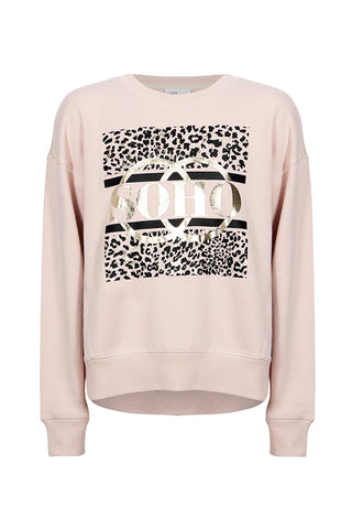 Kids Soho Cropped Crew Sweat