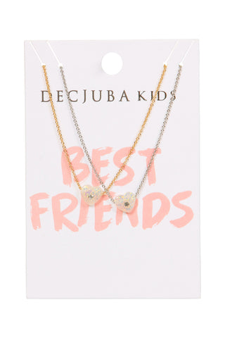 Kids Resin Heart Necklace Pack