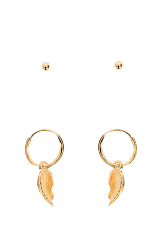 Kids Broken Heart Earrings
