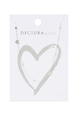 Kids Multi Hearts Necklace