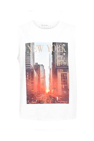 Kids New York Muscle Tank