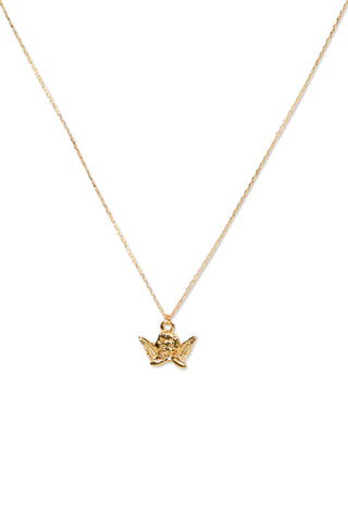 Kids Baby Cherub Necklace