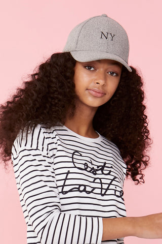 Girls Mini NY Cap