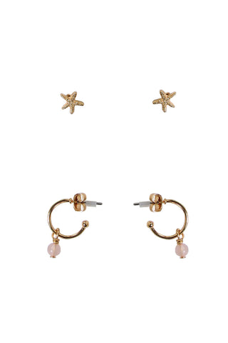 Kids Starfish Earring 2 Pack