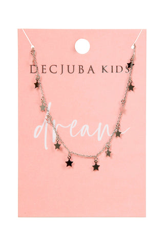 Kids Seeing 12 Stars Necklace