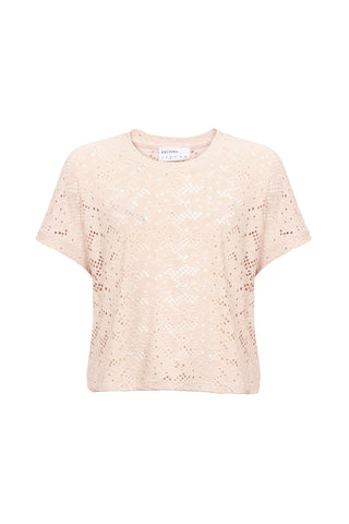 Kids Olive Lace Top