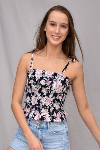 Kids Lia Strappy Crop Top