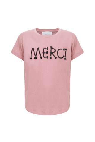 Kids Merci Embellished tee