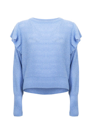 Kids Dana Ruffle Trim Knit