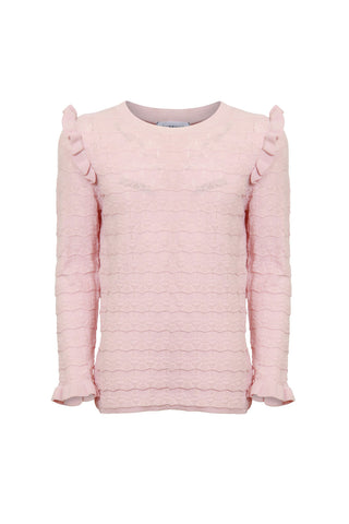 Kids Chiara Ruffle Detail Knit