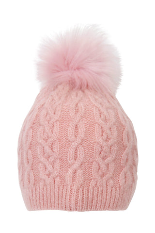Girls Lynn Single Pom Beanie