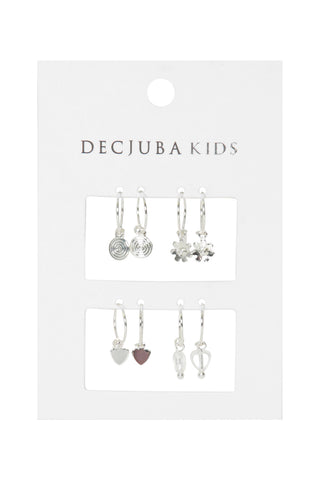 Kids Bay Earring 4 Pack