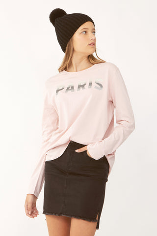 Kids Paris Shadow Long Tee