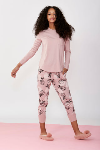 Girls Long PJ Set