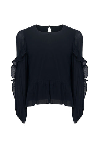 Kids Melissa Ruffle Sleeve Top