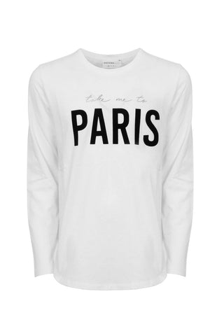 Kids Take Me To Paris Tee