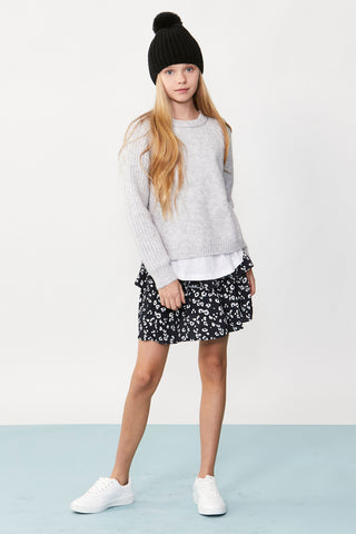 Girls Milly Printed Skirt