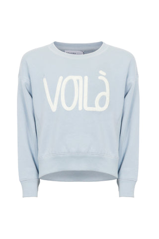 Kids Voila Cropped Crew