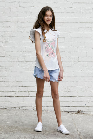 Kids Connie Floral Tee