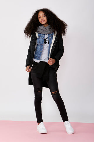 Girls Ella Full Length Jean